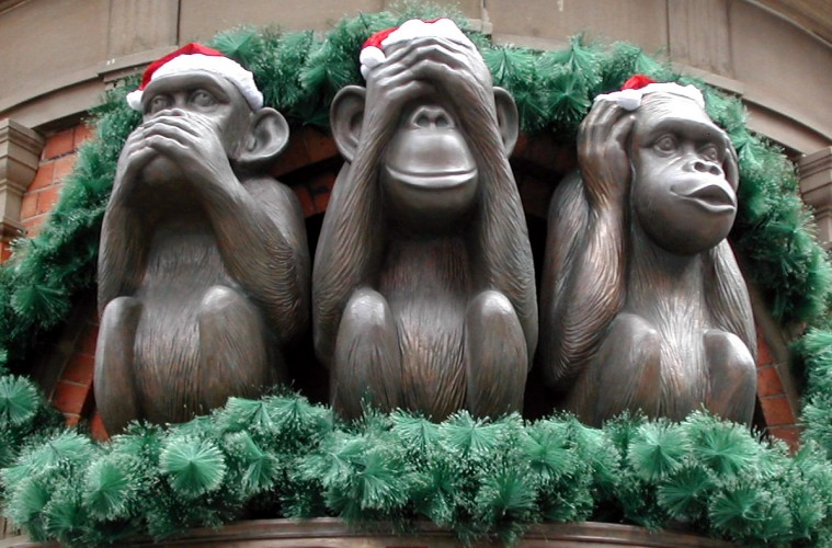 Monkey See Hear Speak No Evil