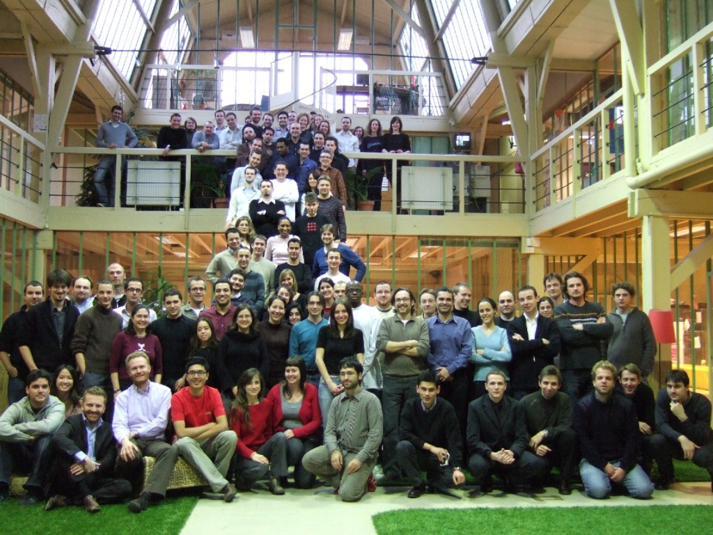 The PriceMinister team in 2007
