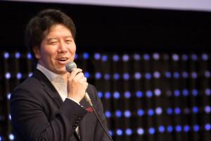 Gree CEO Yoshikazu Tanaka at NEST 2016