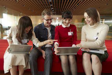 Workforce diversity at Rakuten.