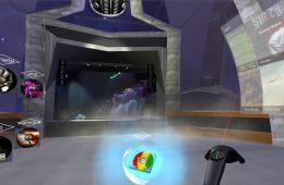 Screenshot of RIT's VR world