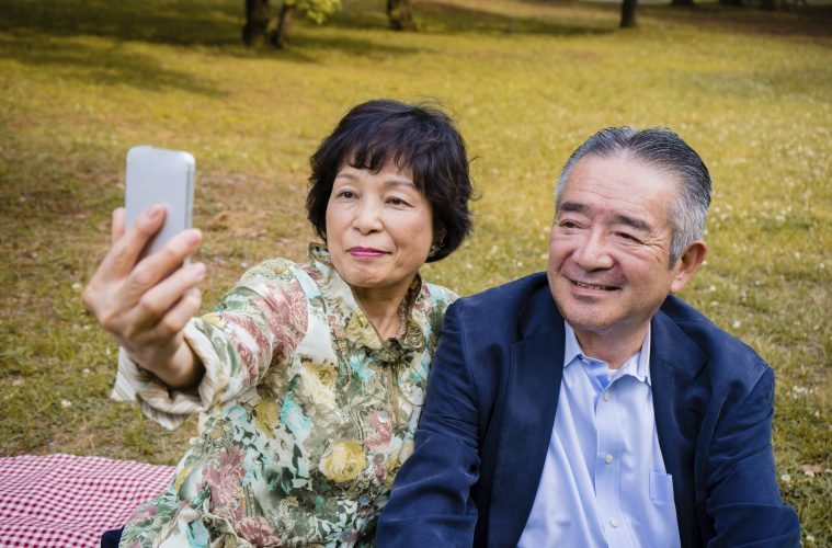 Smartphone school for seniors