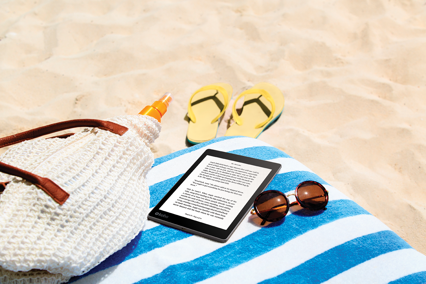 "Michael Tamblyn on the ""greatest ereader of all time"": Kobo Aura ONE"