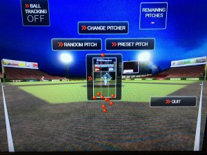 Batters can select which pitcher and which pitches to face.