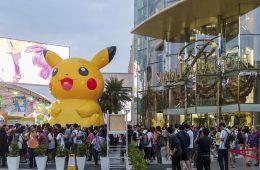 One location using Pokemon Go for marketing