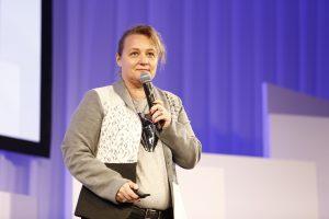 Leanne Kemp, CEO of Everledger, speaks at Rakuten FinTech Conference 2016