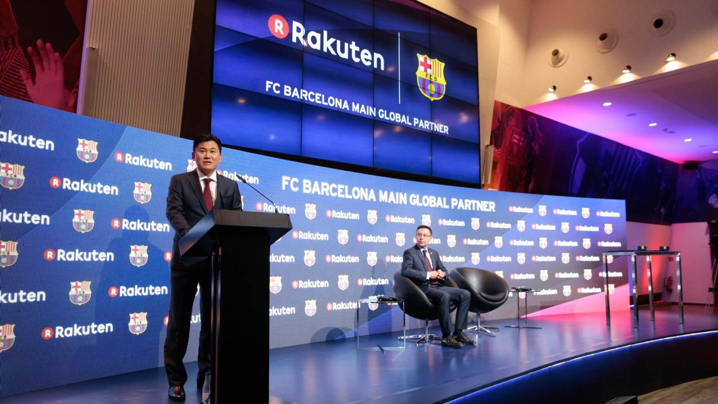 Rakuten is partnering with FC Barcelona: Here's why