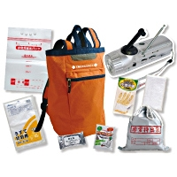 Design-focused emergency kits such as this one have seen an increase in sales this year.