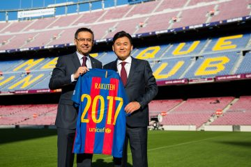 The FC Barcelona Rakuten partnership will officially begin in 2017.