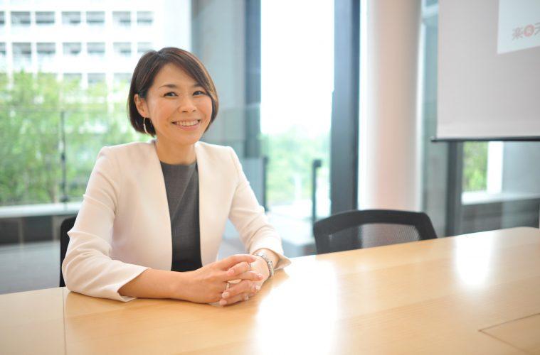 Japan's leading female executive in e-commerce, Naho Kono of Rakuten