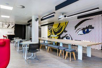 Rakuten's new London office.