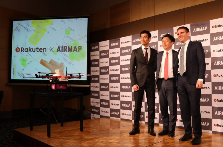 AirMap traffic control system for drones takes flight in Japan