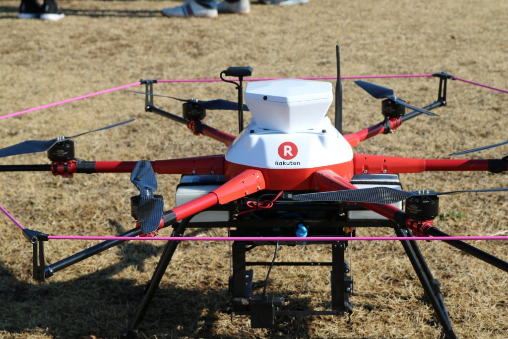 Mukai hopes to have drone delivery available to consumers in Chiba by 2020.