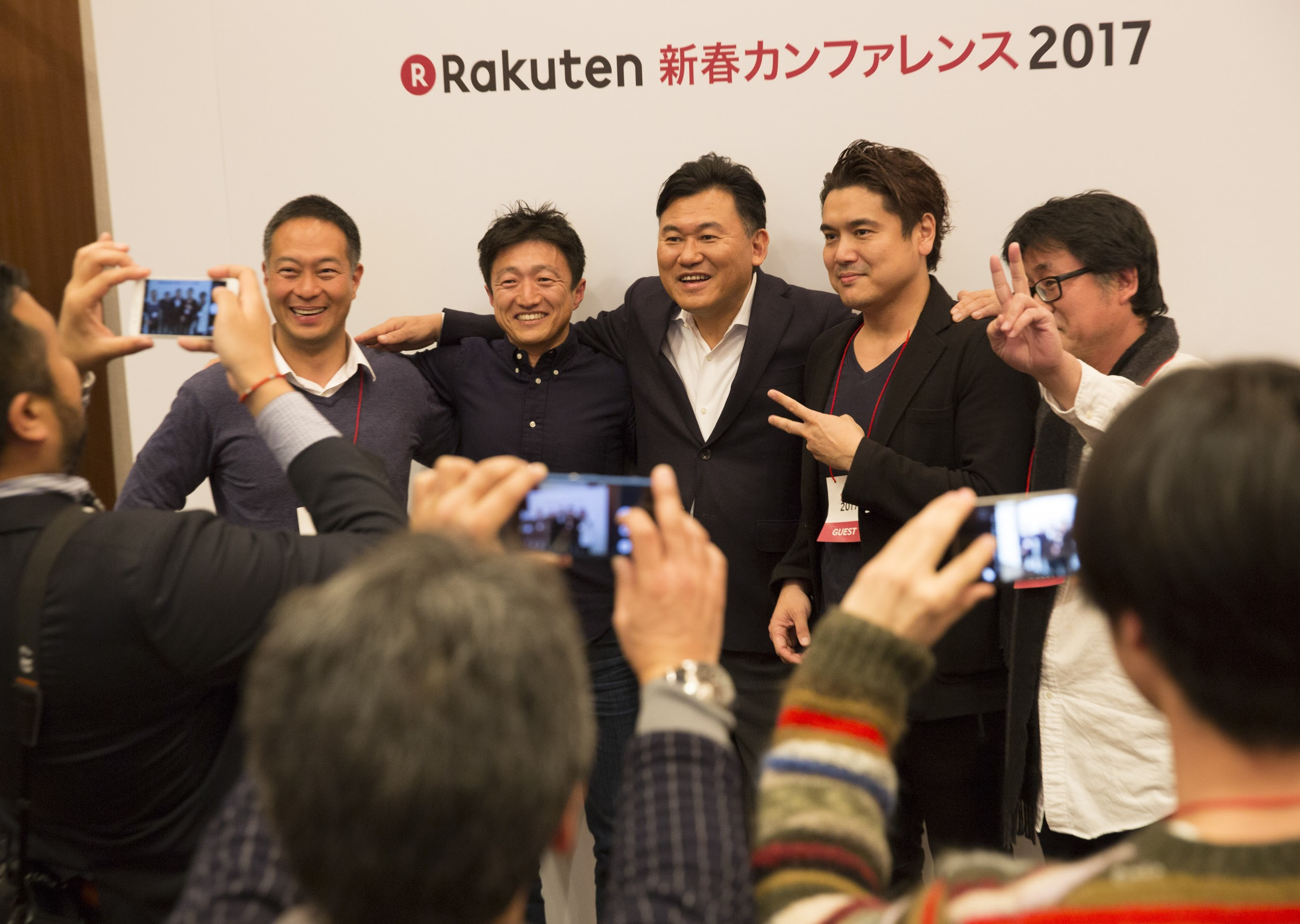 Mickey Mikitani is excited about e-commerce in Japan.