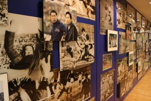 The Japan Football Museum hosts a wide variety of exhibits on the history of football in Japan.