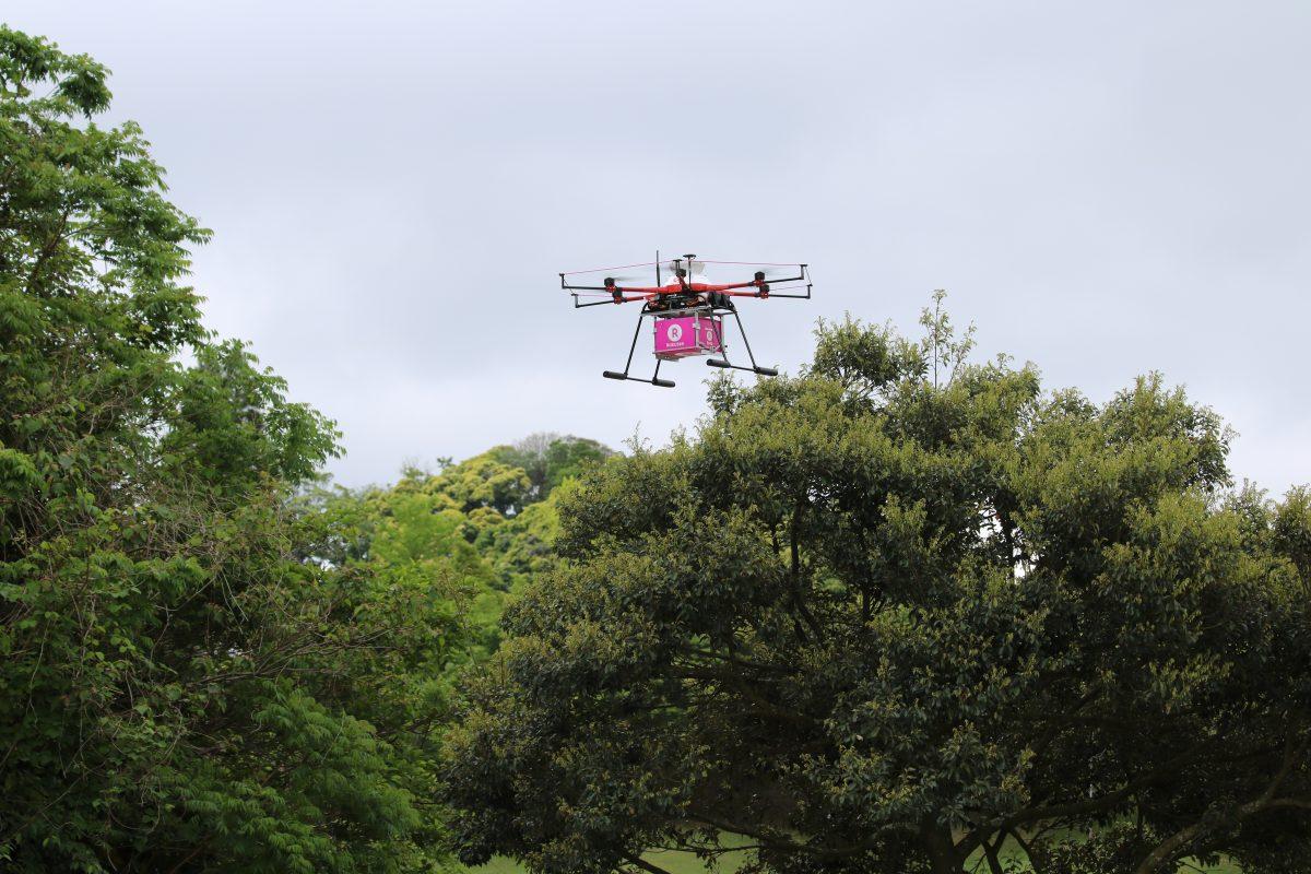 Rakuten drone set to take to skies to boost Fukushima recovery