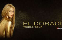Shakira's upcoming El Dorado world tour, presented by Rakuten, kicks off November 8 in Cologne, Germany.