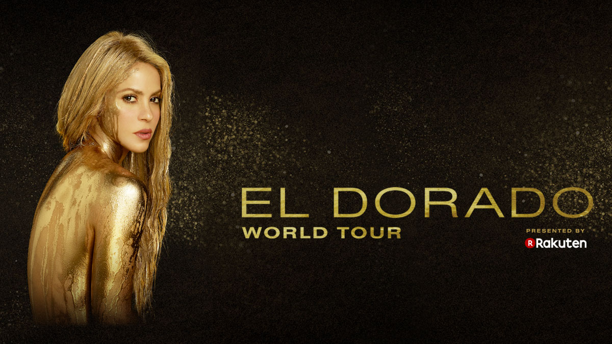 Rakuten presents global pop star Shakira's next world tour