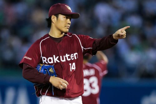 Rakuten ace makes pitch for greatness