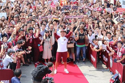 Jリーグ・ヴィッセル神戸に、ついにあの大物選手が加わりました!