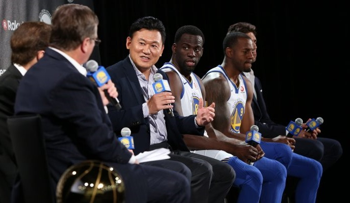 Rakuten partners with reigning NBA Champions Golden State Warriors