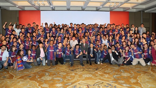 Rakuten Asia celebrates FC Barcelona partnership – and its fifth birthday