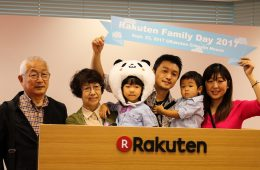 Rakuten's extended family came out to celebrate the company's second annual Rakuten Family Day festival.