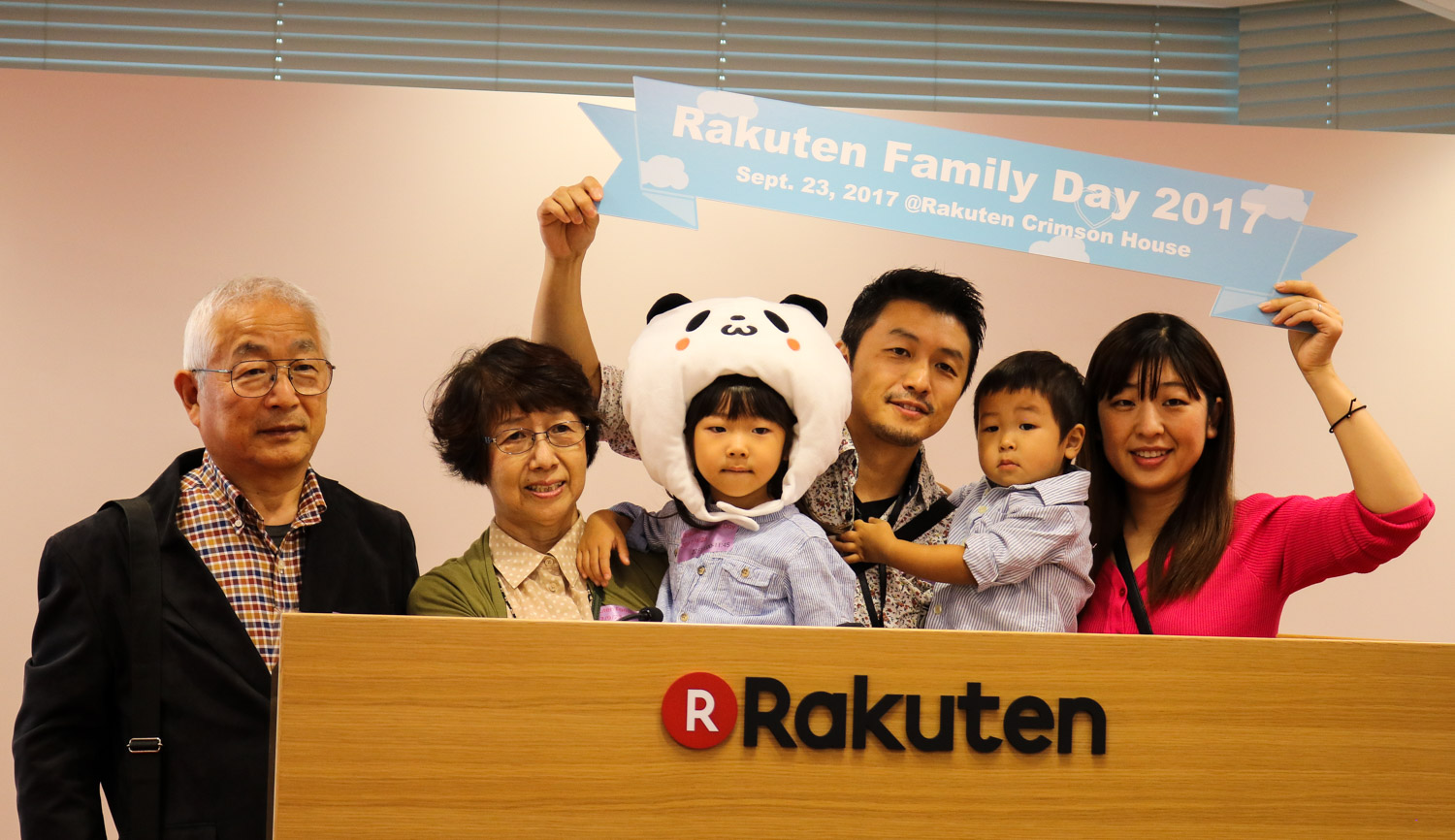 From the boardroom to the ball pool, Rakuten celebrates Family Day