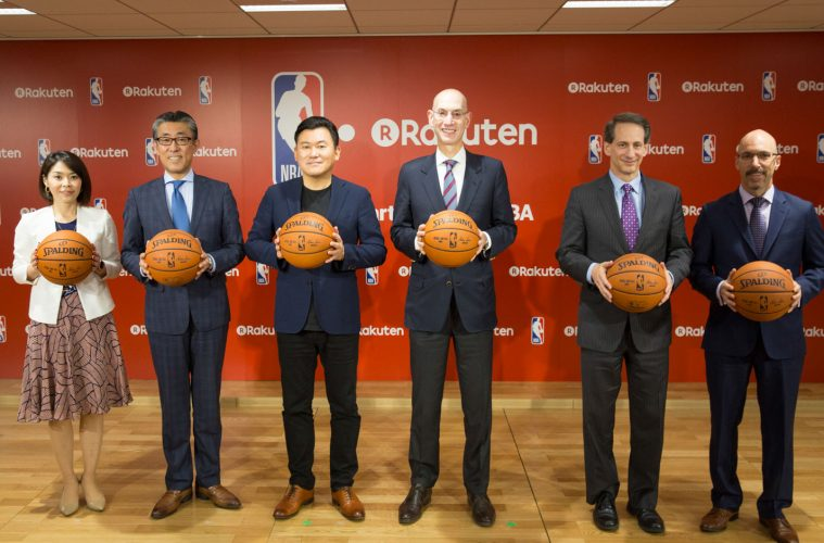 Rakuten and the National Basketball Association announced an exclusive partnership to provide comprehensive live NBA coverage across Japan
