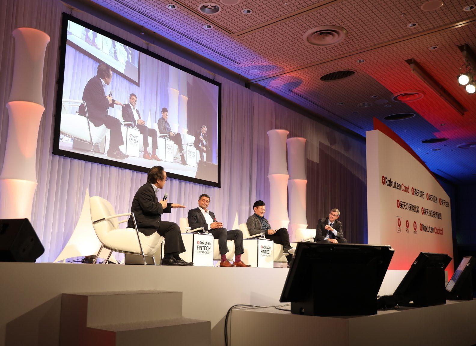 Mastercard, Paypal and Rakuten on the future of fintech