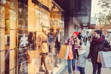 Shoppers have embraced the internet but they have not abandoned the process of visiting physical retail stores.