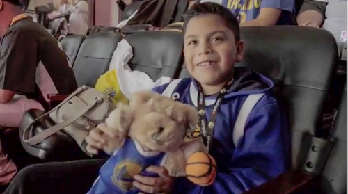 Rakuten and the Warriors spread holiday cheer in the Bay Area