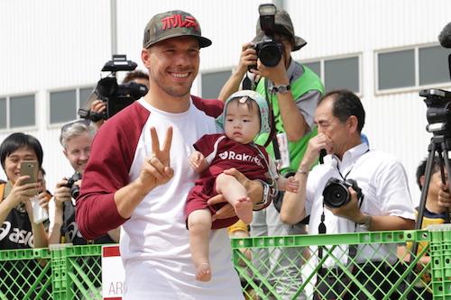 """Ambassador Podolski"" to help boost Japanese tourism"