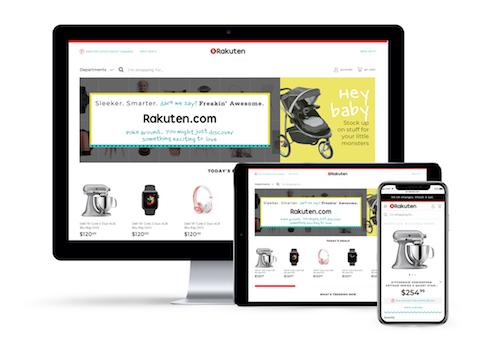 Rakuten.com unveils bold new look