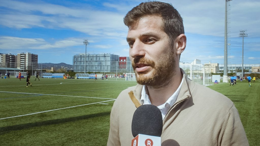 Carles Martin Spoke with the Rakuten Today team at the recent FCBEscola International Tournament, Presented by Rakuten