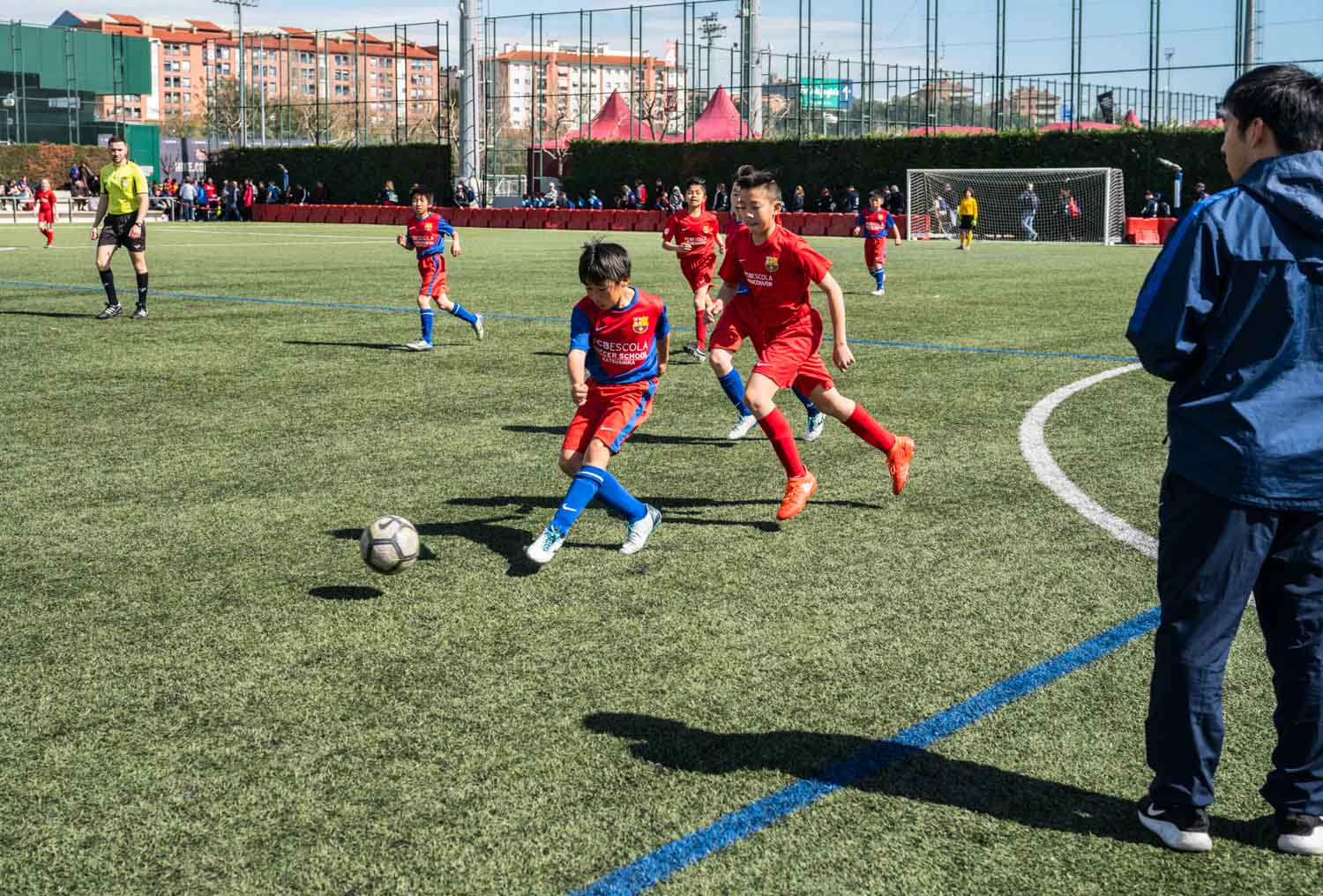 Young Athletes show winning spirit at FCBEscola International Tournament Presented by Rakuten
