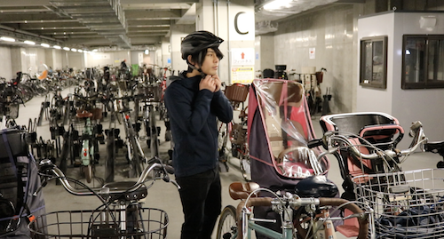 Rakuten's bicycle commuting program at full speed in Tokyo