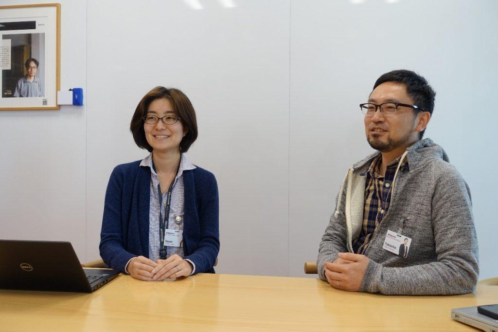 Haruna Tanaka (left) and Takayuki Mamabe have run the program since its inception in 2017.