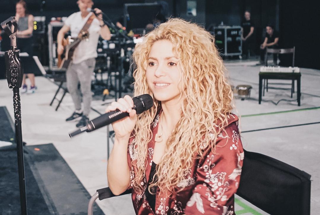 Shakira gearing up for El Dorado World Tour presented by Rakuten