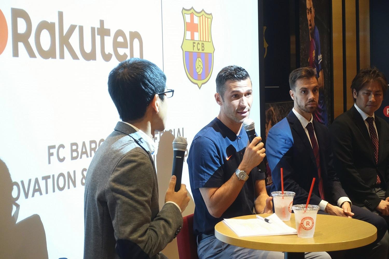 未来のプロサッカー選手育成へ―楽天とFCバルセロナの新たな取り組み