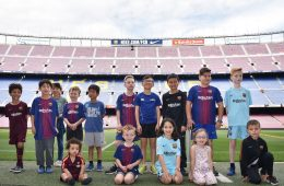 "Rakuten welcomed 11 ""Young Ambassadors"" from around the world to Barcelona to promote SDGs & cheer on their favorite footballers. Here were the highlights:"