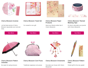 """American customers tend to go for 'Japaneseness,' really typical Japanese items. Japanese paintings, Japanese toys, yukata and kimono sets, bento boxes, even sakura-themed items,"" explained CBT Marketing Manager Ikumi Nakashima."