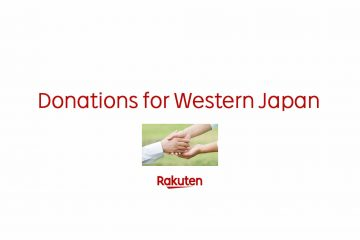 Rakuten is collecting donations for those affected by the heavy rains, flooding and landslides that recently hit Western Japan.