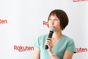 Madoka Yamaoka oversees panda-related marketing at Rakuten.