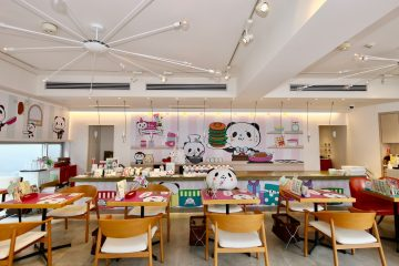 To celebrate this Rakuten icon turning five, the Rakuten Panda has opened a pop-up cafe in one of Tokyo's trendiest neighborhoods.