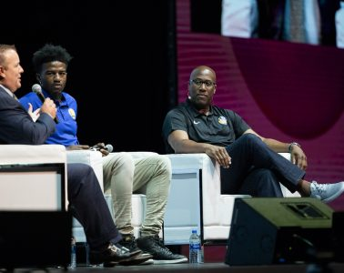 """""""I've been in the NBA since 1992, and the more connected you are with your group, the easier it is to communicate both positive and negative things. People trust you and believe in you, because they know you."""" said Golden State Warriors assistant coach Mike Brown"""