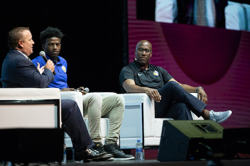 Golden State Warriors share the secrets of success and discuss the importance of optimism