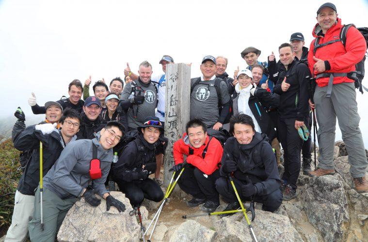 39a706dfbc9 Rakuten leadership team embraces their Spartan side on annual mountain climb