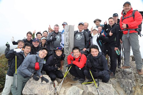 Rakuten leadership team embraces their Spartan side on annual mountain climb