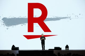 "Rakuten's new logo tells the story of what the company hopes to achieve in the coming year. Here's the meaning behind the Rakuten ""slash."""
